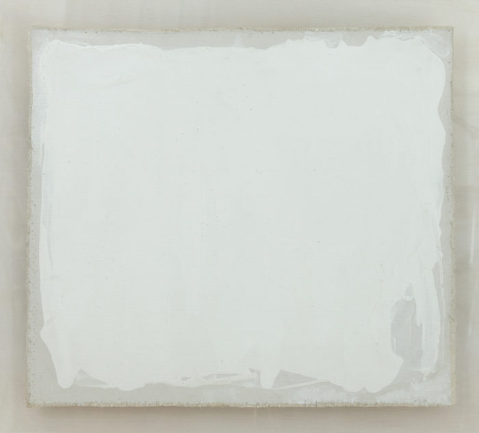 New York, 1970 - Liquitex, acrylic, plexiglass, cm 47 x 52,7